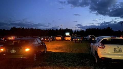 Un beau succès pour le ciné-parc à Saint-Pamphile!