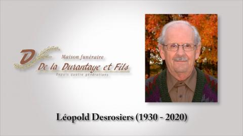 Léopold Desrosiers (1930 - 2020)