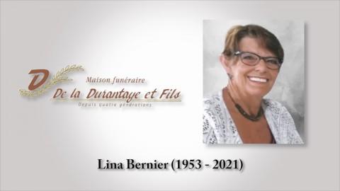 Lina Bernier (1953 - 2021)