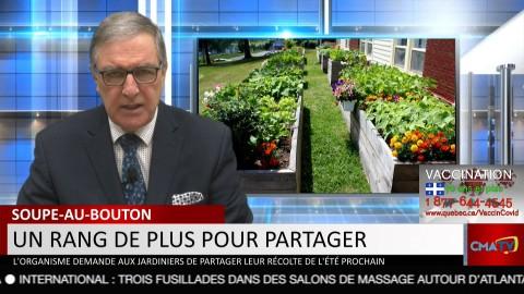 Bonjour Côte-du-Sud - Mercredi 17 mars 2021