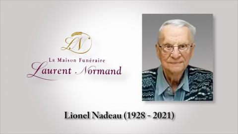 Lionel Nadeau (1928 - 2021)