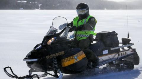La SQ a procédé à plusieurs vérifications dans les sentiers de motoneige de Chaudière-Appalaches