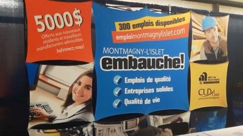 Le Salon de l'emploi de Montmagny-L'Islet est désormais un incontournable pour les entreprises d'ici