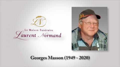 Georges Masson (1949 - 2020)