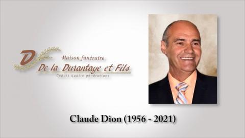 Claude Dion (1956 - 2021)