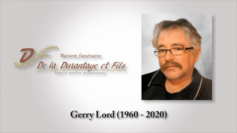 Gerry Lord (1960 - 2020)