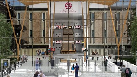 Une première esquisse de la nouvelle Salle Edwin-Bélanger dévoilée