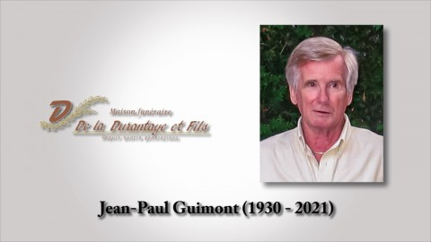 Jean-Paul Guimont (1930 - 2021)