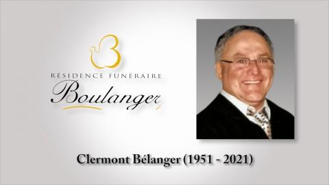 Clermont Bélanger (1951 - 2021)