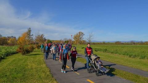 La Grande marche du Grand défi Pierre Lavoie aura lieu le 17 octobre à Montmagny!