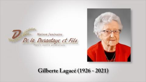 Gilberte Lagacé (1926 - 2021)