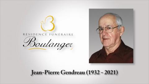 Jean-Pierre Gendreau (1932 - 2021)