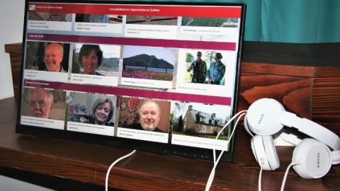 L'Équipe du musée de la mémoire vivante travaille sur un projet interrégional sur les mémoires seigneuriales