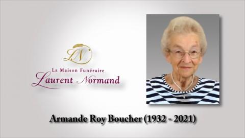 Armande Roy Boucher (1932 - 2021)