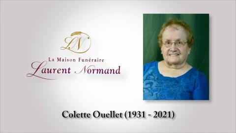 Colette Ouellet (1931 - 2021)