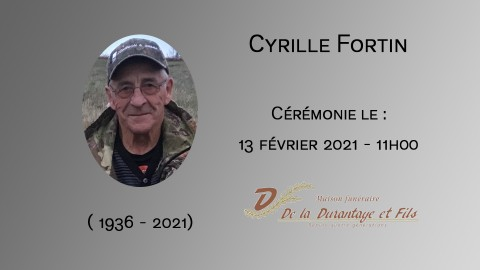 Cyrille Fortin