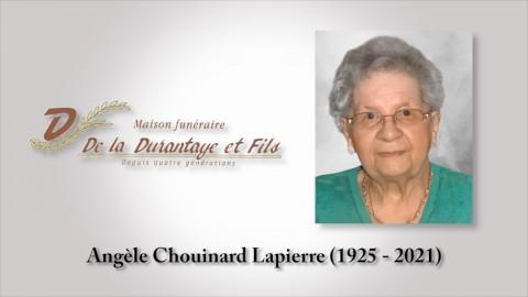 Angèle Chouinard Lapierre (1925 - 2021)