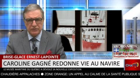 Bonjour Côte-du-Sud - Lundi 22 mars 2021