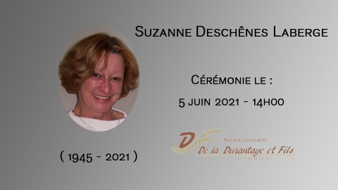 Suzanne Deschênes Laberge