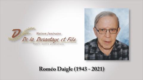 Roméo Daigle (1943 - 2021)