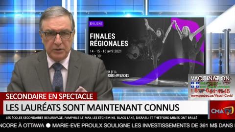 Bonjour Côte-du-Sud - Mardi 20 avril 2021