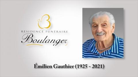 Émilien Gauthier (1925 - 2021)