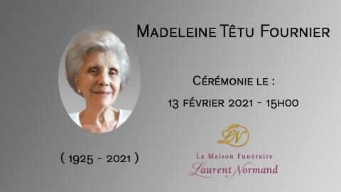 Madeleine Têtu Fournier