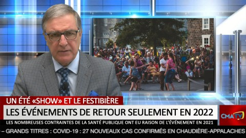 Bonjour Côte-du-Sud - Lundi 31 mai 2021
