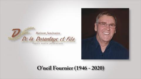 O'neil Fournier (1946 - 2020)