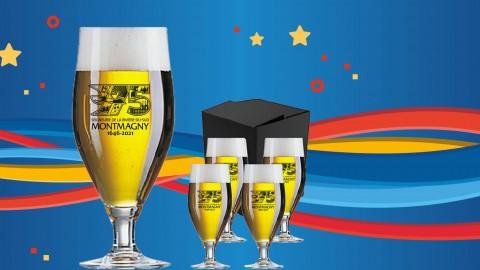 La prévente des verres officiels des Fêtes du 375e est lancée