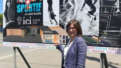 Projet de Complexe sportif, culturel et de santé durable : Marie-Eve Proulx s'engage à porter le projet au Gouvernement du Québec