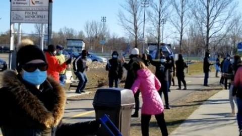 Les enseignants du secteur ont procédé mercredi à une grève matinale