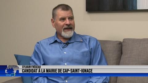 Entrevue - Sylvain Frégeau, candidat à la mairie de Cap-Saint-Ignace - 25 octobre 2021