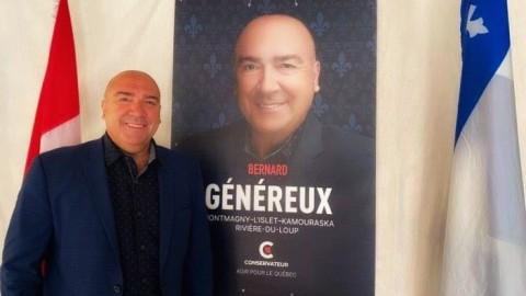 Erin O'Toole et Bernard Généreux présentent leur contrat avec les Québécois
