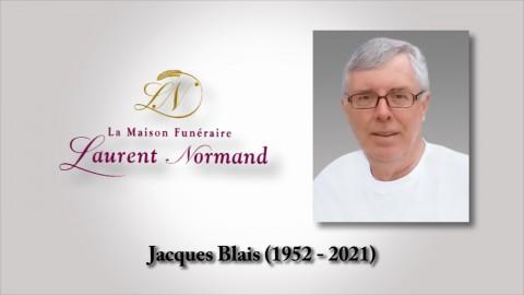 Jacques Blais (1952 - 2021)