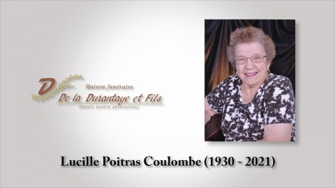 Lucille Poitas Coulombe (1930 - 2021)