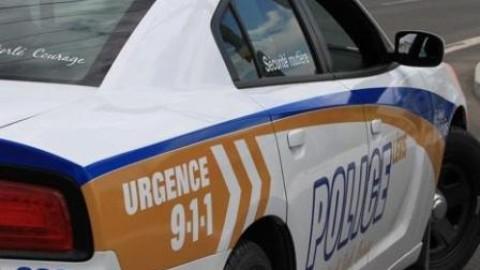 Arrestation pour menaces de mort envers les policiers à Lévis