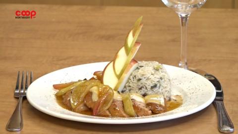 Chronique culinaire Magasin Coop IGA - Filet de porc, pomme et Suisse  -14 octobre 2021