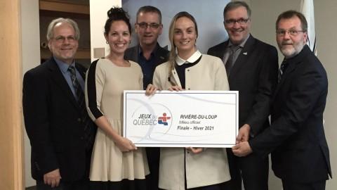 Le Kamouraska se mobilise pour la Finale des Jeux du Québec à l'hiver 2021