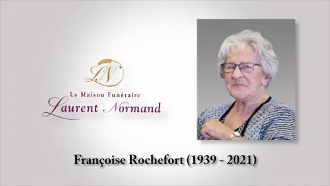 Françoise Rochefort (1939 - 2021)