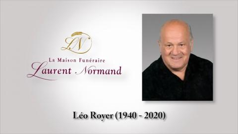 Léo Royer (1940 - 2020)