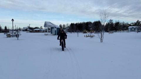 Une piste de fatbike fait son apparition à Saint-Pamphile
