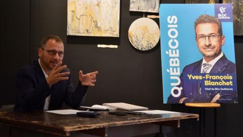 Simon Bérubé veut aider les entreprises de la circonscription à prendre le virage vert