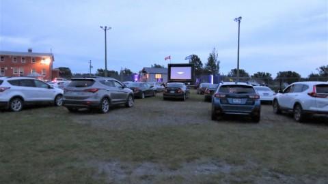 Un succès pour l'activité Ciné-parc à Saint-Just-de-Bretenières