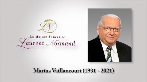 Marius Vaillancourt (1931 - 2021)
