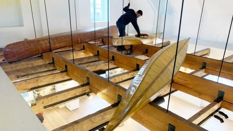 Coup du destin pour trois embarcations autochtones exposées à la bibliothèque de Montmagny