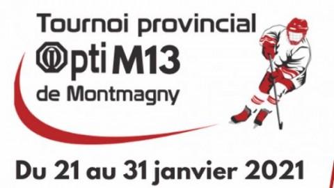 Le 61e Tournoi provincial Opti Pee-Wee annulé