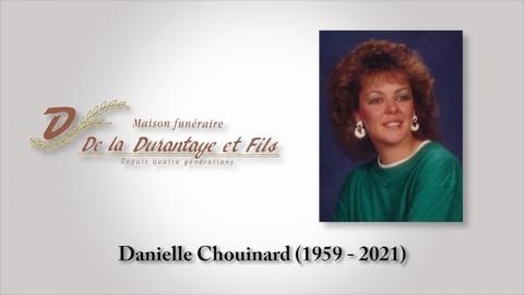 Danielle Chouinard (1959 - 2021)