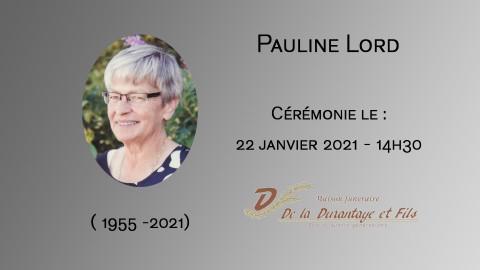 Pauline Lord