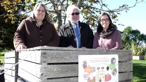 « Mon école composte » : Une initiative qui aura des retombées dans la MRC de Montmagny